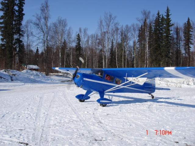 TCraft on snow