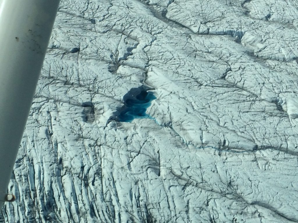 Blue Pond on Glacier